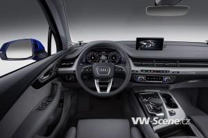 Audi Q7 - interier