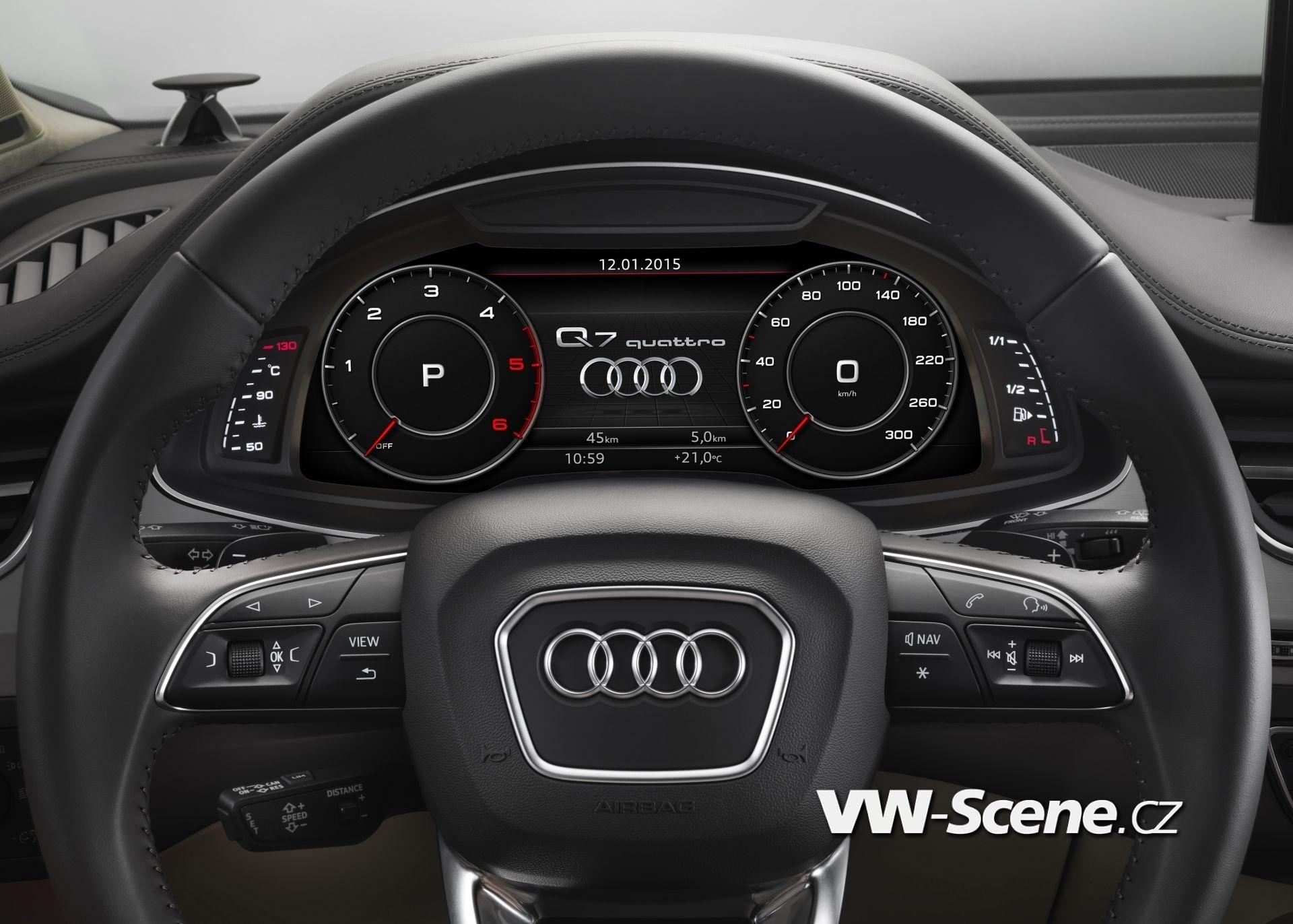 Verbrauchsangaben Audi Q7:Kraftstoffverbrauch in l/100km kombiniert: 8,3 ? 5,7;CO2-Emissionen in g/km kombiniert: 183 - 149