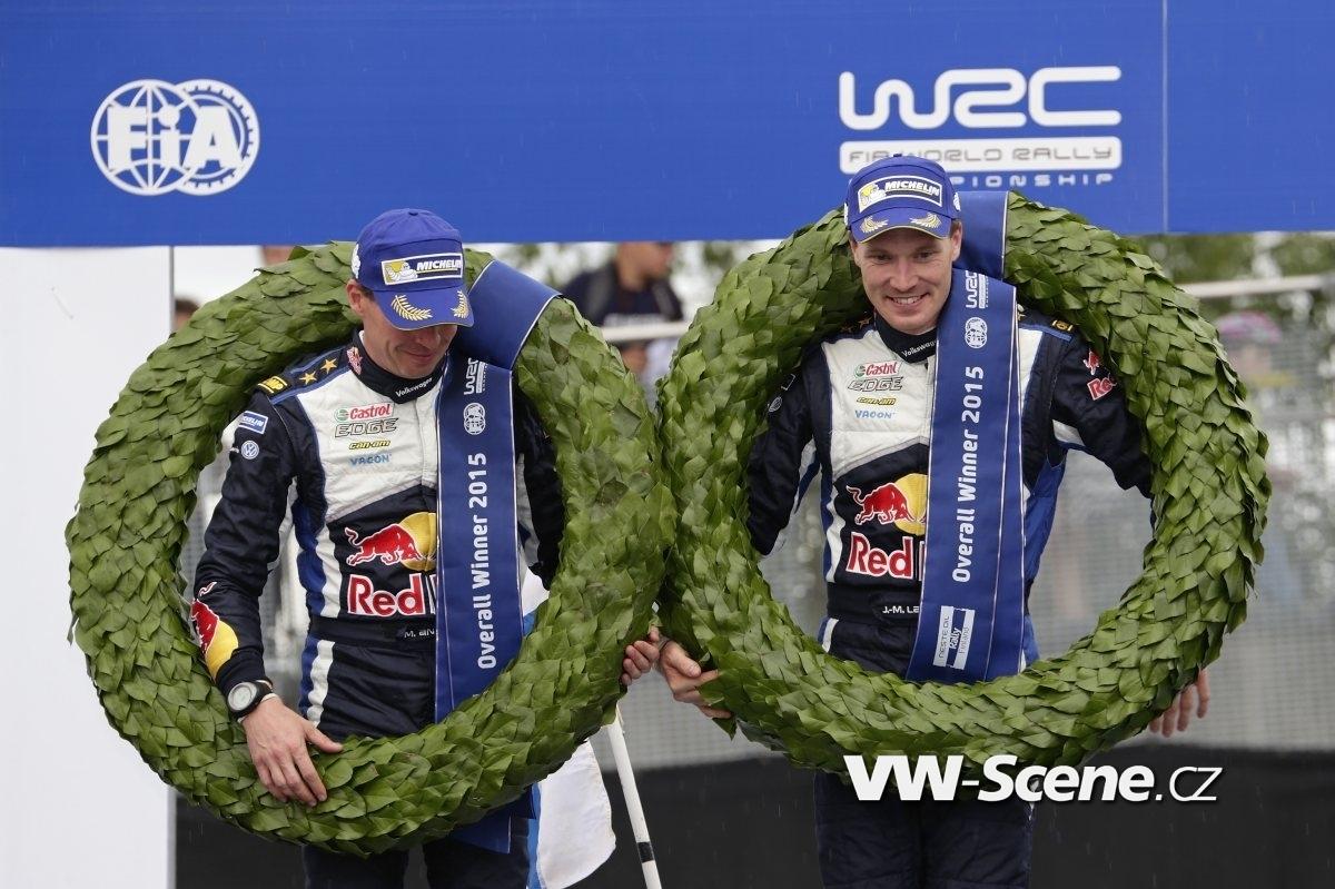 Miikka Anttila (FIN), Jari-Matti Latvala (FIN) WRC Rally Finland 2015