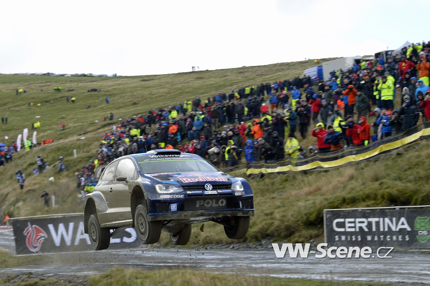 Sébastien Ogier (F), Julien Ingrassia (F) Volkswagen Polo R WRC (2015) WRC Rally Great Britain 2015