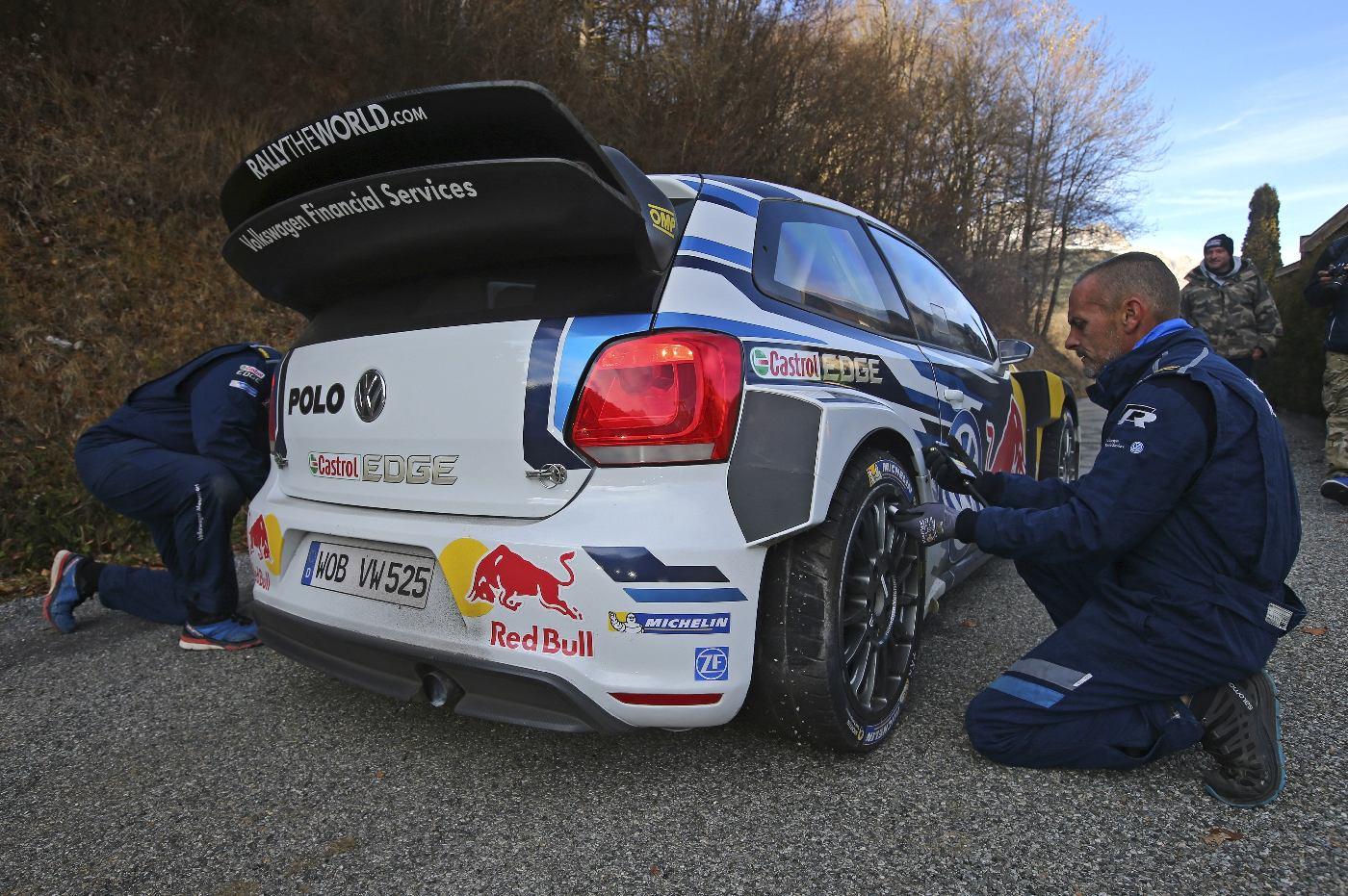 WRC Rally Test 2015