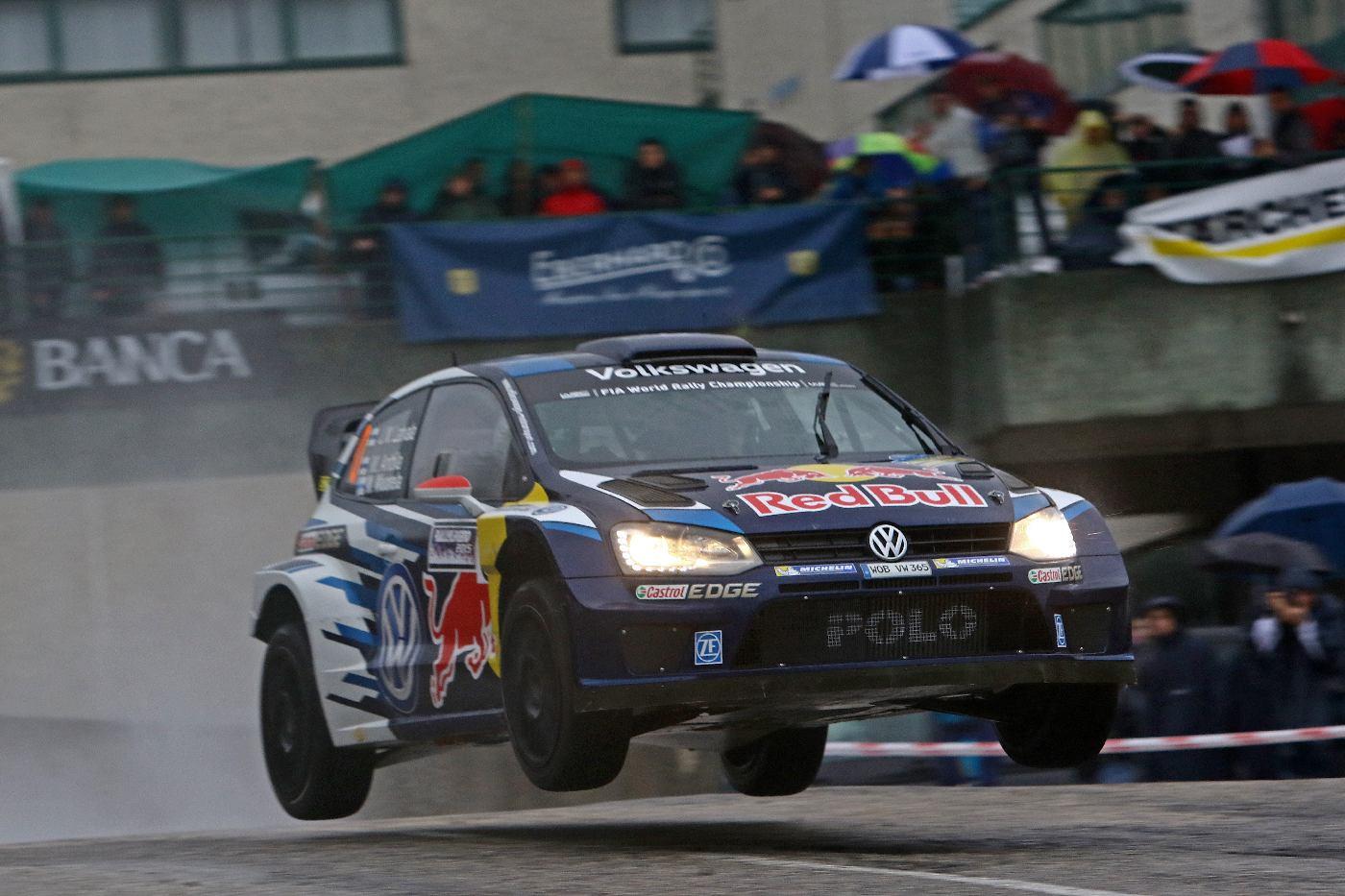 Jari-Matti Latvala (FIN), Miikka Anttila (FIN) Volkswagen Polo R WRC Rallylegend 2015