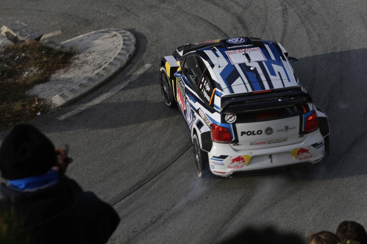 Sébastien Ogier (F), Julien Ingrassia (F) Volkswagen Polo R WRC (2016) WRC Rally Monte Carlo 2016