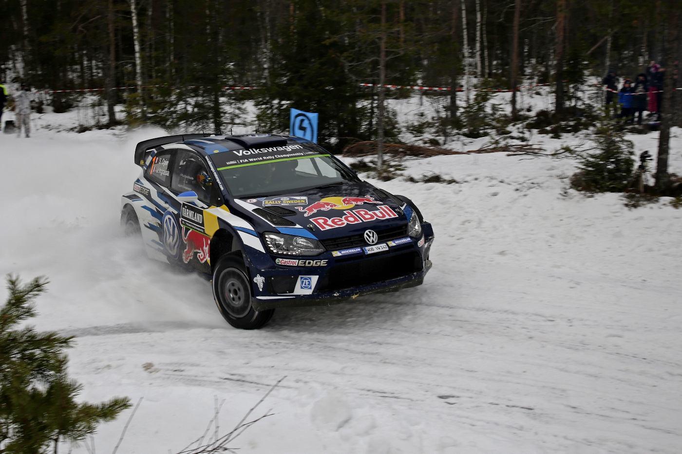 Sébastien Ogier (F), Julien Ingrassia (F) Volkswagen Polo R WRC (2016) WRC Rally Sweden 2016