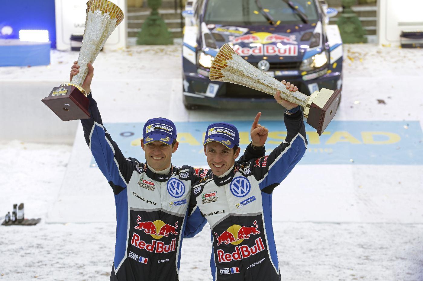 Sébastien Ogier (F), Julien Ingrassia (F) WRC Rally Sweden 2016