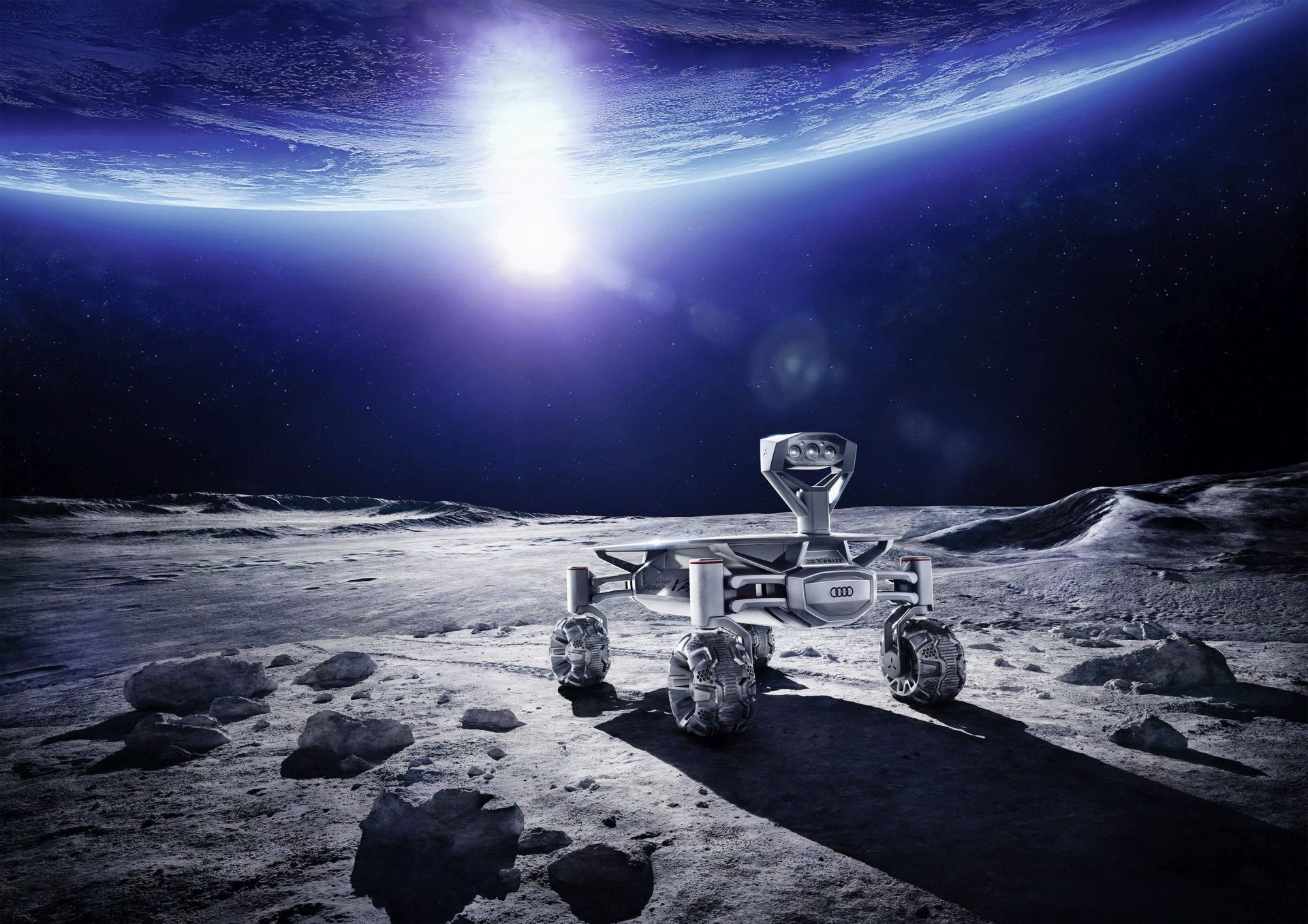 Part-Time scientists und Audi lunar quattro ready to head for the moon